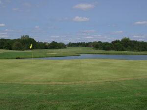 The Divide Golf Club Hole 18