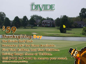 Thanksgiving Day at The Divide Golf Club