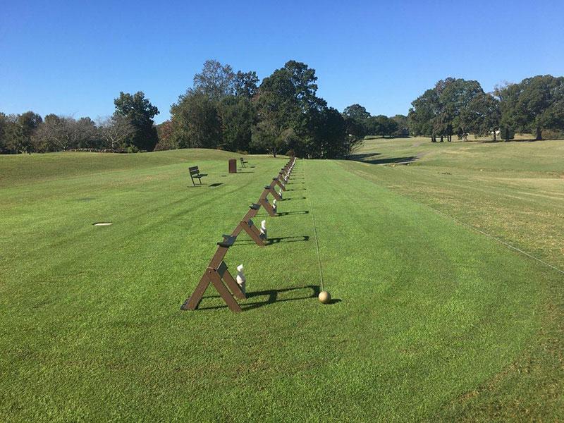 Driving Range at The Divid Golf Club