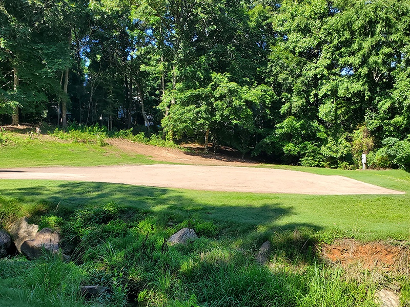 Hole 7 Green Top Dressed